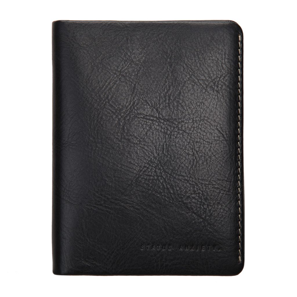Status Anxiety STATUS ANXIETY | CONQUEST PASSPORT WALLET | BLACK