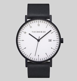 The Horse THE HORSE | WATCH | D-SERIES |MATTE BLACK/WHITE/BLACK