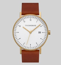 The Horse THE HORSE | WATCH | D-SERIES | GOLD/WHITE/COFFEE