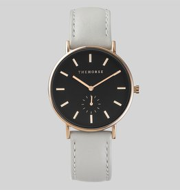 The Horse THE HORSE | WATCH | ROSE GOLD, BLACK DIAL, GREY BAND