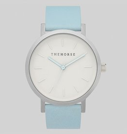 The Horse THE HORSE | WATCH | BRUSHED SILVER / POWDER BLUE