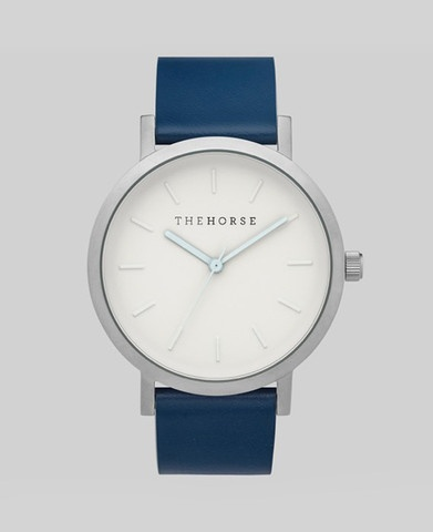 The Horse THE HORSE | WATCH | BRUSHED SILVER / NAVY
