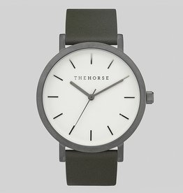 The Horse THE HORSE | WATCH | GUNMETAL / OLIVE