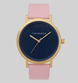 The Horse THE HORSE | WATCH | BRUSHED GOLD / NAVY / MUSK