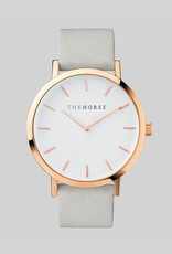 The Horse THE HORSE | WATCH | ROSE GOLD CASE/WHITE DIAL/GREY BAND