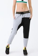 PE Nation PE NATION | SPLIT LANE TRACK PANT | GREY MARLE
