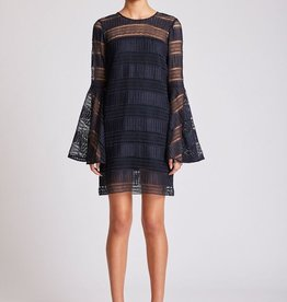 Shona Joy SHONA JOY | ARUBA | FLARED SLEEVE SHIFT DRESS