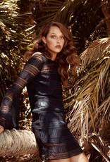 Shona Joy SHONA JOY | ARUBA | FLARED SLEEVE SHIFT DRESS