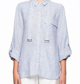 Viktoria & Woods VIKTORIA + WOODS | ENTRANCE SHIRT | ZERO STRIPE
