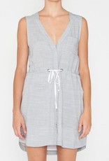 Elka Collective ELKA COLLECTIVE | LOUELLA DRESS | BLUE GREY