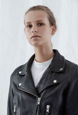 Nobody NOBODY | CLASSIC LEATHER JACKET | BLACK