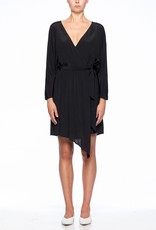 Viktoria & Woods VIKTORIA + WOODS | CASTAWAY WRAP DRESS | BLACK