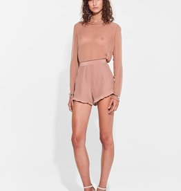 Sir the Label SIR | ELSA FRILLED MINI SHORT | BLUSH