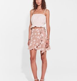 Sir the Label SIR | ELSA WRAP SKIRT | BLUSH FLORAL PRINT