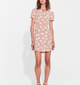 Sir the Label SIR | ISLA TIE BACK MINI DRESS | BLUSH FLORAL PRINT