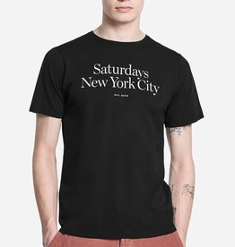 Saturdays Surf NYC SATURDAYS | MILLER STANDARD S/S TEE | BLACK