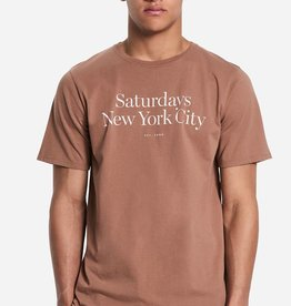 Saturdays Surf NYC SATURDAYS | MILLER STANDARD S/S TEE | COPPER