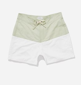 Saturdays Surf NYC SATURDAYS | ENNIS BOARDSHORT | MINT/WHITE