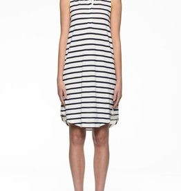Viktoria & Woods VIKTORIA + WOODS | HOLLOW TANK DRESS | WHITE STRIPE