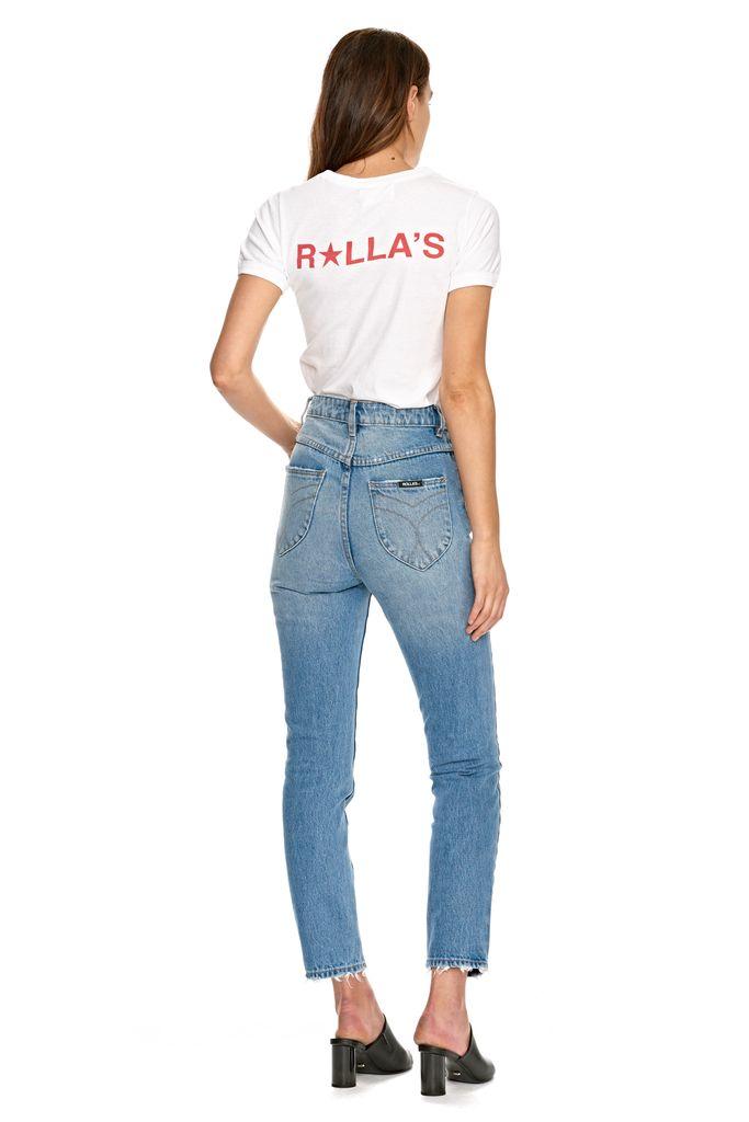 Rolla's ROLLAS | STAR LOGO TEE | WHITE
