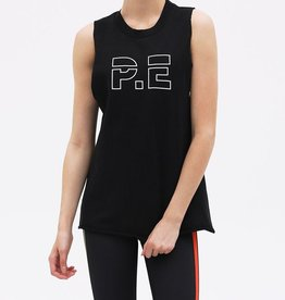PE Nation PE NATION | RACER BACK TANK | BLACK