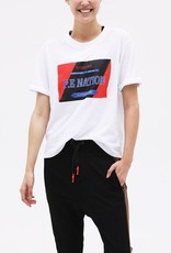 PE Nation PE NATION | THE FORWARD TEE | WHITE