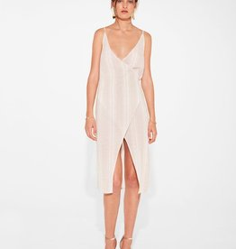 Sir the Label SIR | XANTHE WRAP DRESS | BONE STRIPE