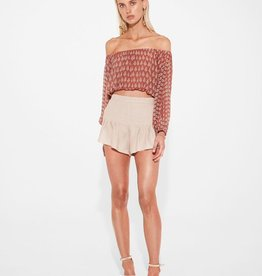 Sir the Label SIR | FLORENCE OFF THE SHOULDER TOP | PRINT