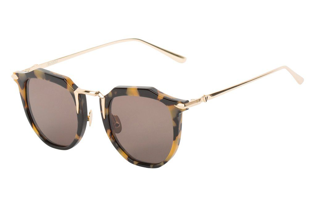 Valley VALLEY | CHATEAU | YELLOW TORT W GOLD TITANIUM/BROWN LENS