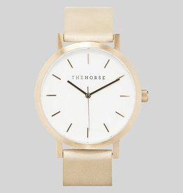 The Horse THE HORSE | WATCH | ROSE GOLD/VEG TAN
