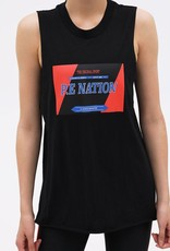 PE Nation PE NATION | ROLL WITH THE PUNCHES TANK | BLACK