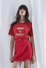Nobody NOBODY | NOBODY IS PERFECT TEE | FLAME