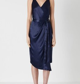 Viktoria & Woods VIKTORIA + WOODS | VIRTUE WRAP DRESS | NAVY