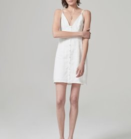 Hansen & Gretel HANSEN & GRETEL | JOURDAN LINEN DRESS | WHITE