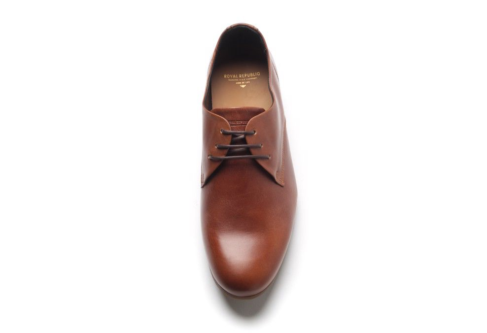 Royal Republiq ROYAL REPUBLIQ | CAST DERBY SHOE | HAZEL W HONEY SOLE