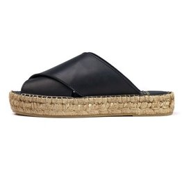 Royal Republiq ROYAL REPUBLIQ | WAYFARER CROSS SANDAL | BLACK