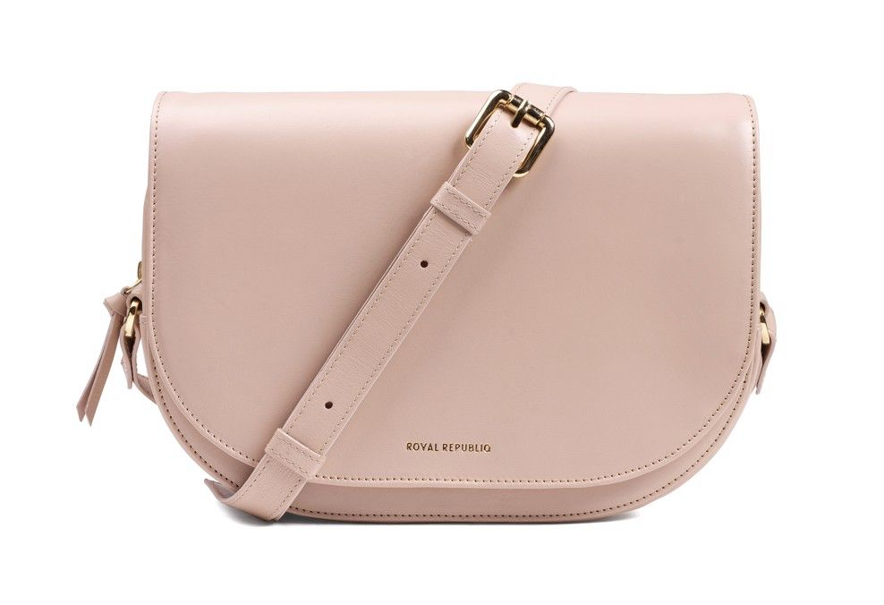 Royal Republiq ROYAL REPUBLIQ | RAF CURVE HANDBAG | NUDE