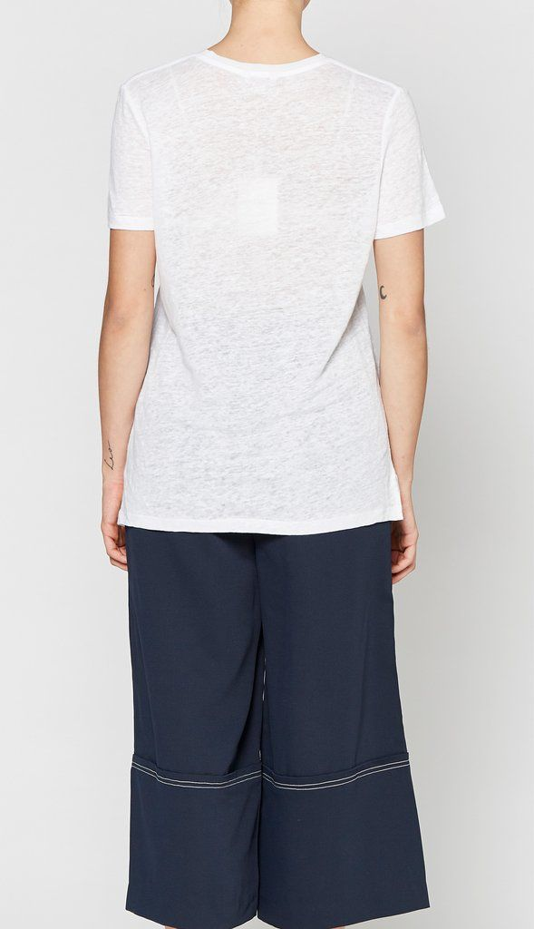 Elka Collective ELKA COLLECTIVE | LE MONT BLANC TEE | WHITE