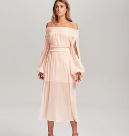 Steele STEELE | MARGOT OFF-SHOULDER DRESS | BLUSH