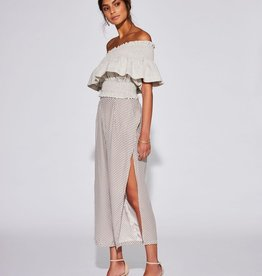 Sir the Label SIR | INES ONE SHOULDER TOP | ECRU