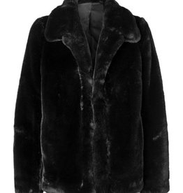 Ena Pelly ENA PELLY | LIZZIE FAUX FUR JACKET | BLACK