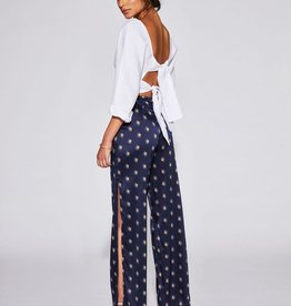 Sir the Label SIR | SOLENE SPLIT LEG PANT | INK LARGE PRINT