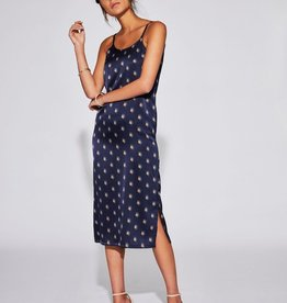 Sir the Label SIR | SOLENE MAXI SLIP DRESS | INK LARGE PRINT