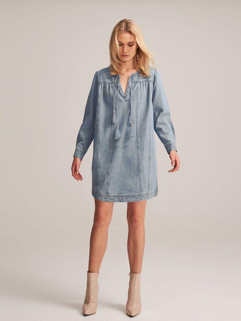 Steele STEELE | LESSIE SHIFT DRESS | DENIM