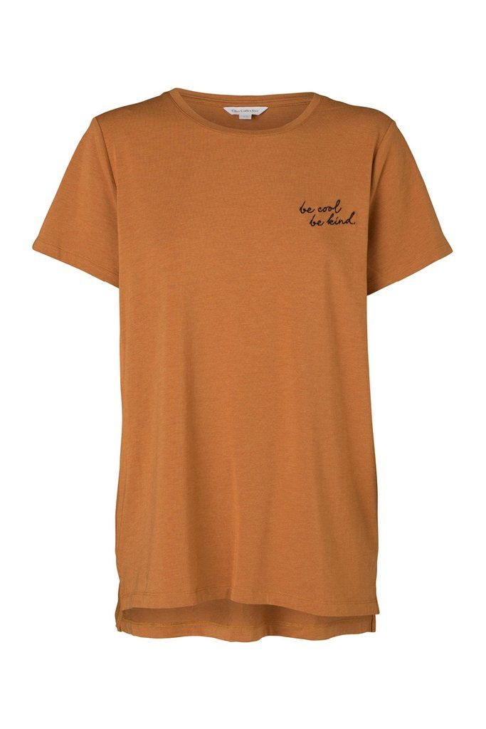 Elka Collective ELKA COLLECTIVE | BE COOL BE KIND TEE | MUSTARD