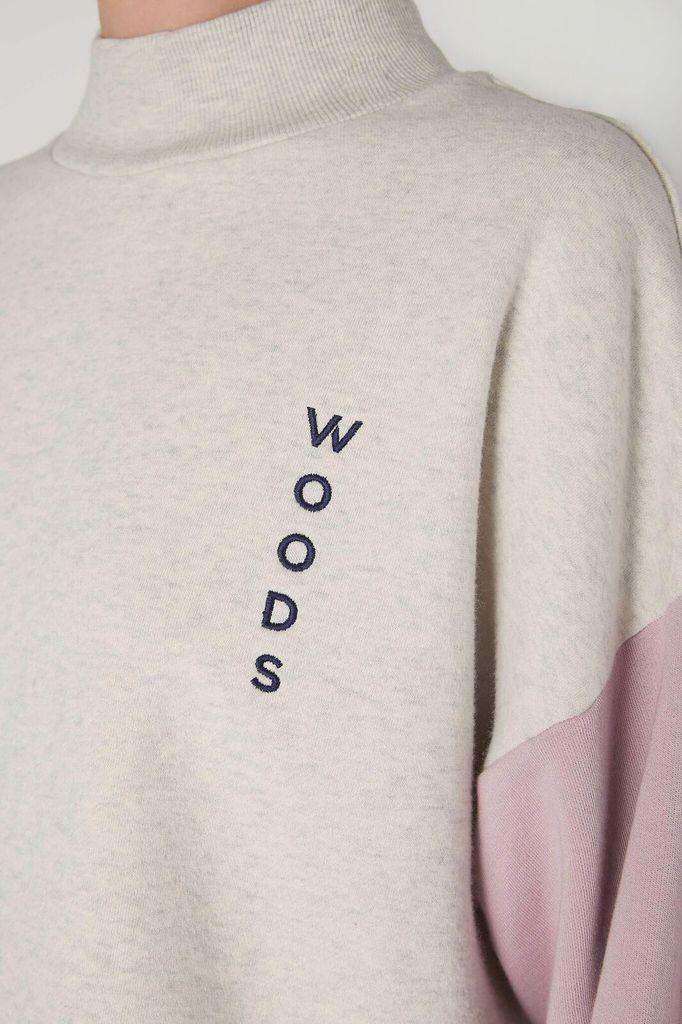 Viktoria & Woods VIKTORIA + WOODS | WOODS BLOCK CREW | WHITE MARL
