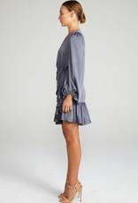 Shona Joy SHONA JOY   ANNA   PUFF SLEEVE D.STRING MINI DRESS