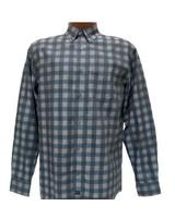 FX Fusion FX Fusion Teal Checkered Shirt