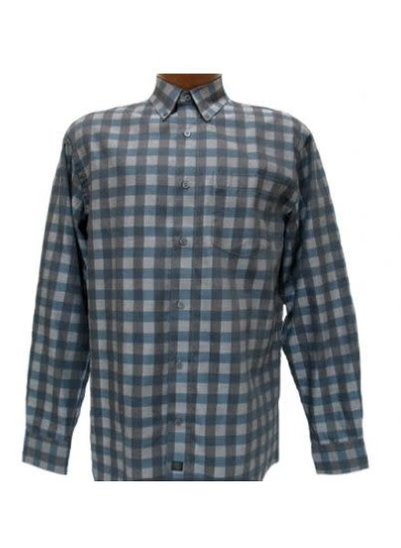 FX Fusion FX Fusion Teal Checkered Shirt