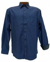 FX Fusion FX Fusion Men's Royal Blue Long Sleeve Shirt